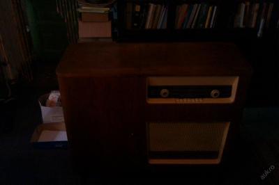 GRAMOFON RADIO HUDEBNÍ SKŘÍŇ SUPRAPHON LE 61