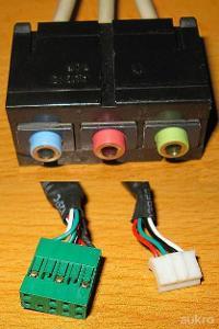 Konektor box do CASE * USB, Audio, FireWire 1394