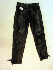 Kožené šněrovací kalhoty ROUTE 66 vel. 42-pas:74