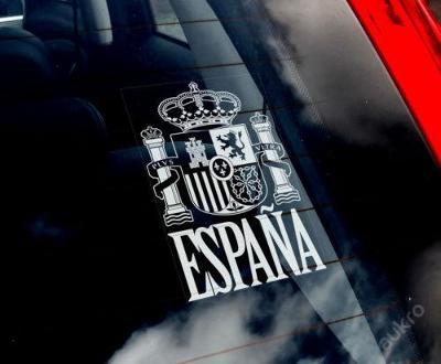 Espana - autonálepka na sklo aj. samolepka