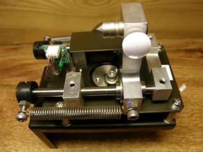 CNC lineární posuv DC 24 V motorem - rozsah 15 mm