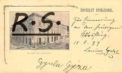 Prešov 1899