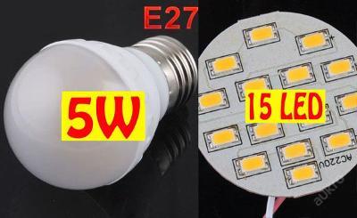 LED84 E27 4,3W 550lm(=45W) teplá bílá ZAŠLEME HNED