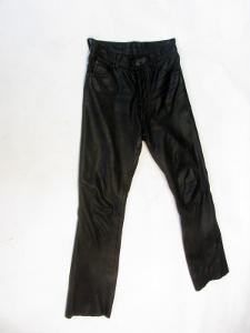 Kožené kalhoty GIPSY - obvod pasu: 74 cm