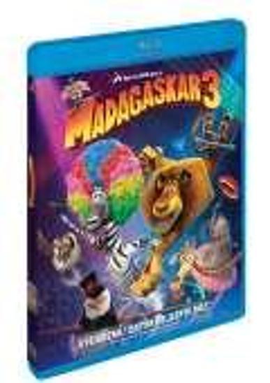 Blu Ray Madagaskar 3 - Film