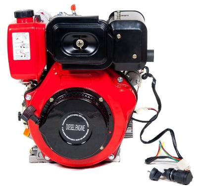Dieslový naftový motor GERMAN 9,5HP DIESEL E-START