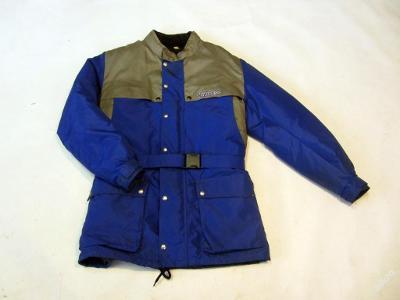 Textilní bunda vel. 2/M - zateplená - (6047)