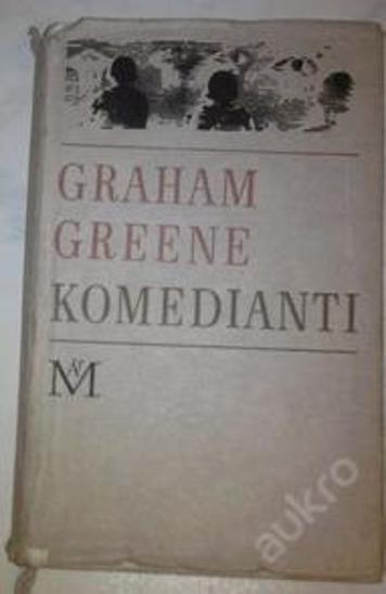 Komedianti-Graham Greene - Knihy
