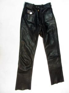 Kožené kalhoty MOTOLINE vel 40 - pas: 70 cm