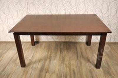 Jídelní stůl rozkládací, dřevo masiv (14823B)