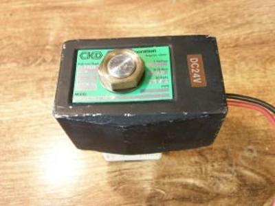 Solenoidový hydraulický ventil, 200 kPa, DC 24 V