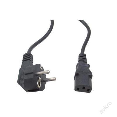 Kabel napájecí k počítači, 230V, 16A, černý, 1,5 m