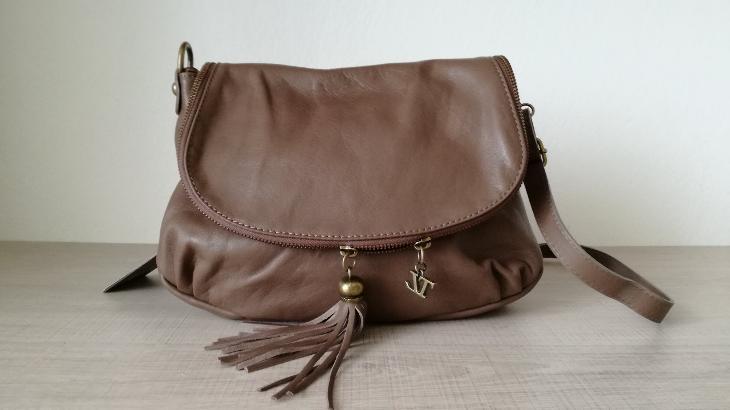 Nová kožená kabelka italské značky Tuscany Leather - Dámské kabelky