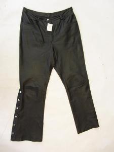 Kožené kalhoty vel. 42 - obvod pasu: 88 cm