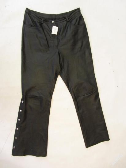 Kožené kalhoty vel. 42 - obvod pasu: 88 cm - Náhradní díly a příslušenství pro motocykly