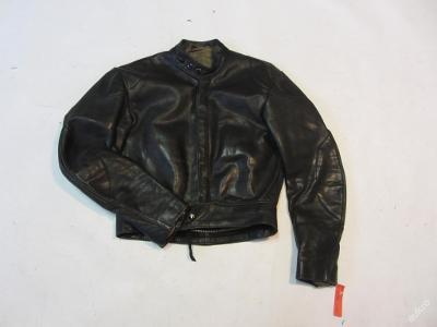Kožená bunda  - (6139) -  oděrky