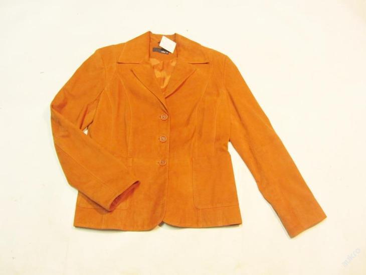Kožená dámská bunda vel. S JAKE - zachovalý stav - Dámské oblečení