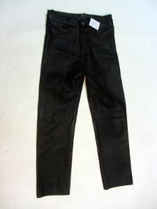 Kožené kalhoty vel. ? obvod pasu: 76 cm (9002)