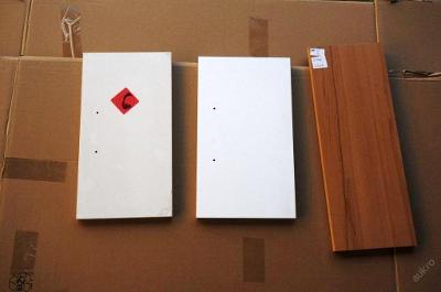 3 x čelo šuplíku, polička, dřevolaminát (6379)