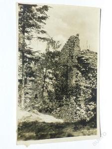 Orlické hory - Potštejn, Rychnov - hrad 1931