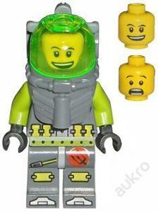 LEGO Atlantis figurka Bobby