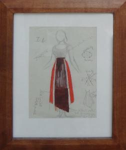 Svolinský Karel Návrh kostýmu