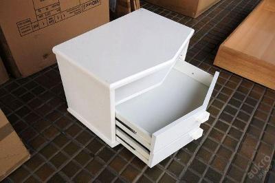 Noční stolek se šuplíky (4591)