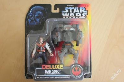 Retro figurka Star Wars Deluxe Han Solo