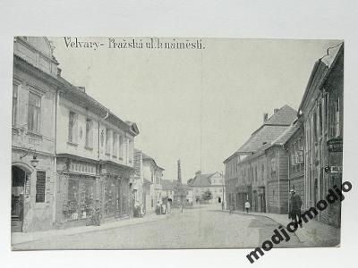 Velvary, okr. Kladno - Pražská ulice