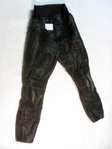 Kožené kalhoty vel. 54/XL - obvod pasu: 82cm(871
