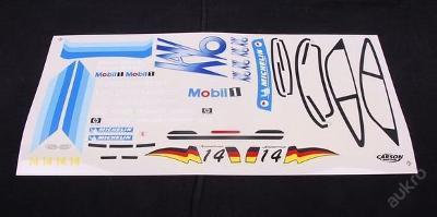 Polepy pův. pro Porsche Supercup 1:10 CARSON