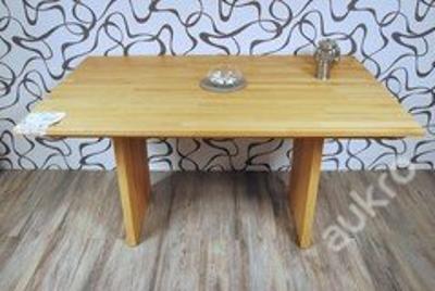 Jídelní stůl, dřevo masiv (10574A)B 11841 E S