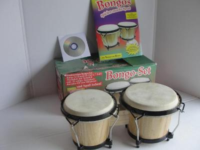 Hudební nástroj - Bongo set
