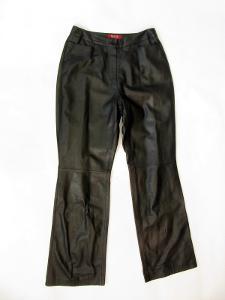 Kožené dámské kalhoty TAIFUN vel. 40-pas: 76 cm