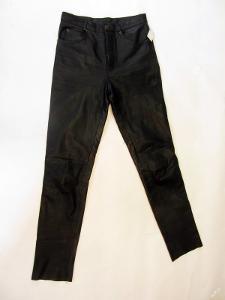 Kožené kalhoty Gipsy vel. 30 - pas: 80 cm