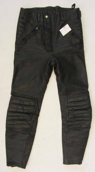 Kožené kalhoty vel.46 Krawehl - obvod pasu: 72 c - Náhradní díly a příslušenství pro motocykly