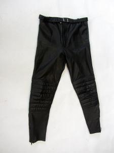 Kožené kalhoty - obvod pasu: 82 cm (8896) patina