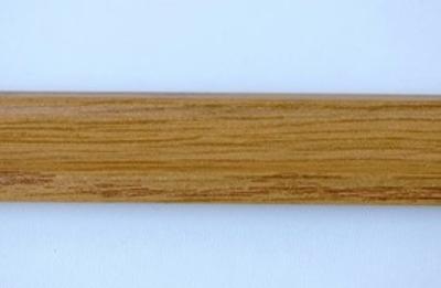 Lišta rohová 210 cm, dekor dub (12334)