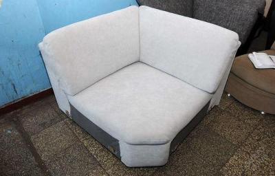 Sofa nerozkládací 110 x 110 cm, mikroplyš (6048)