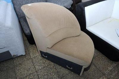 Sofa nerozkládací 60 x 90 cm, mikroplyš (6047)