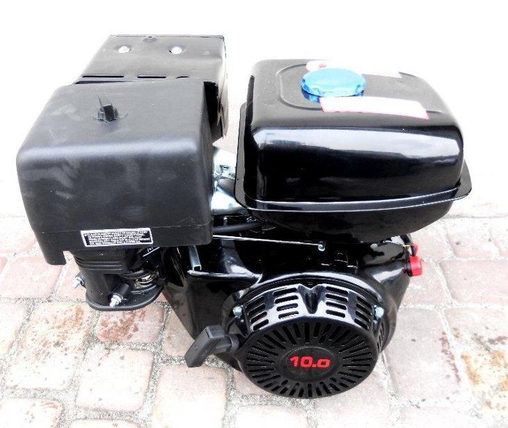 Benzínový motor OHV 9HP GERMAN E-START k čerpadlu - Zahrada