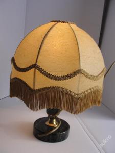 Stará, stolní lampička, lampa-Onyx