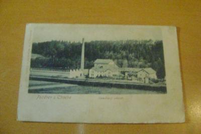 Choceň-Houdkovy závody-razítko poľní pošty-1918