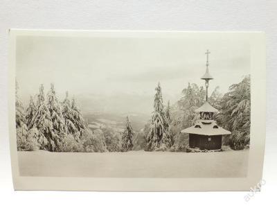 Beskydy - Radhošť - Zvonička v zimě 1941