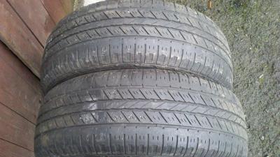 2 celoroční pneumatiky HANKOOK 215/65R16 98H 5,04m