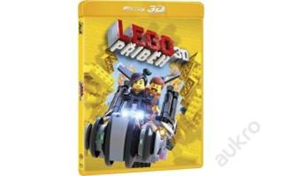 Blu Ray Lego příběh 3D+2D