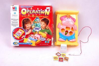 Dětská hra,,Moje první operace,, II.j. (5274)