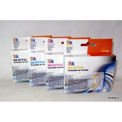 SADA náplní T0711-T0714, T0715, pro Epson, 4ks
