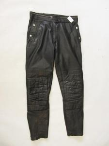 Kožené kalhoty vel.? - obvod pasu: 78 cm (4862)