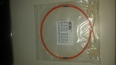 Optický patchcord SC x SC, MM 62,5/125 2mm 1m